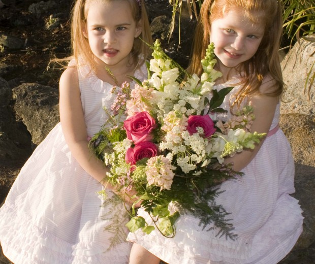 girls Our custom floral designs for weddings express your style and