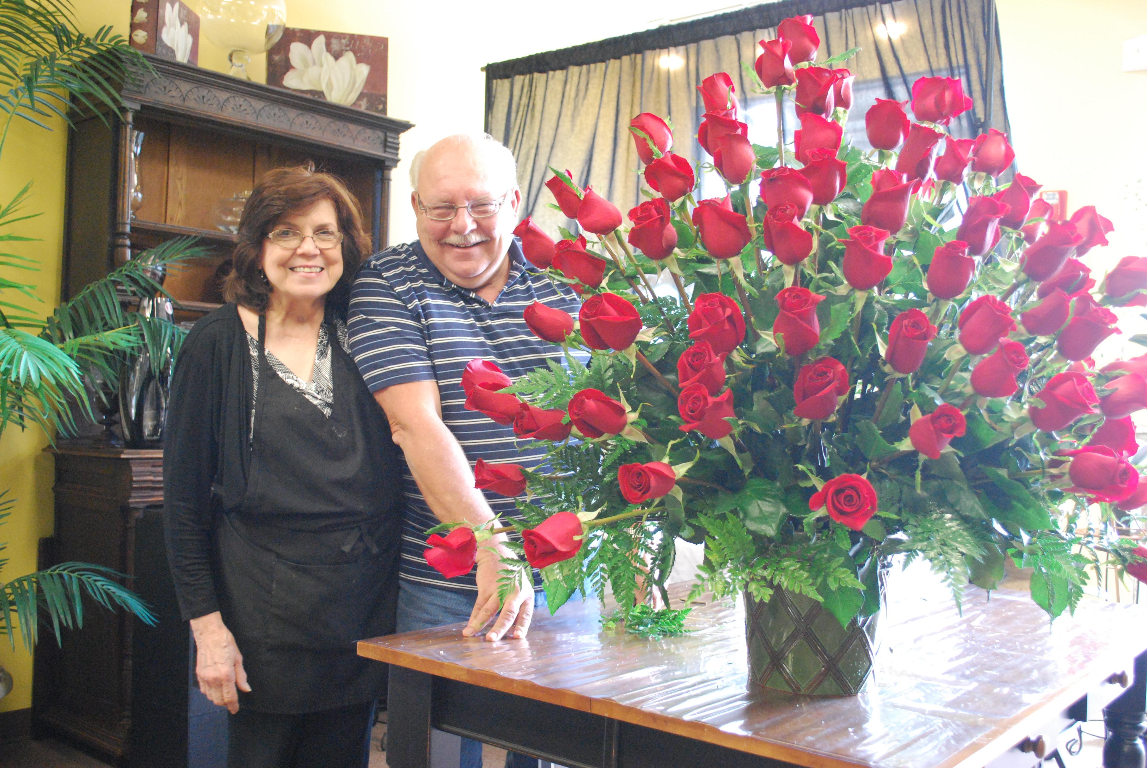 Huge Rose Arrangement