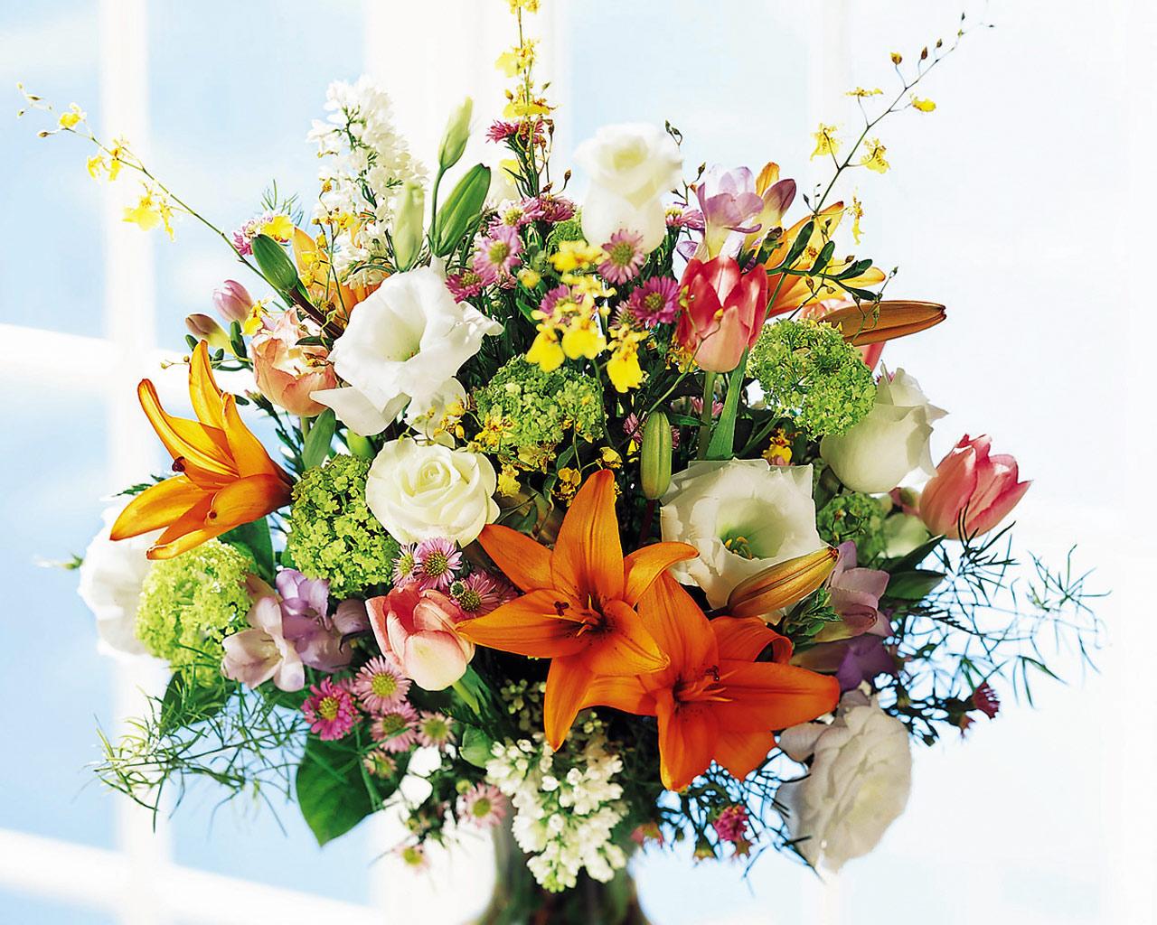 Orlando Florist garden style arrangements