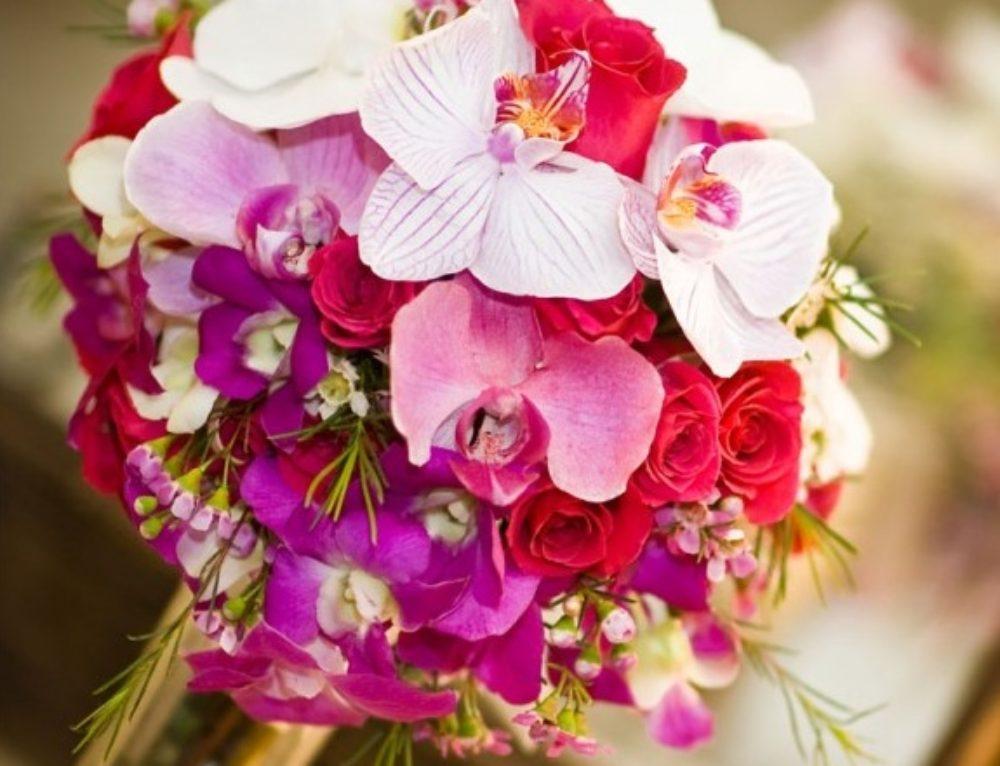 Bridal Bouquet Styles: Tropical Flowers