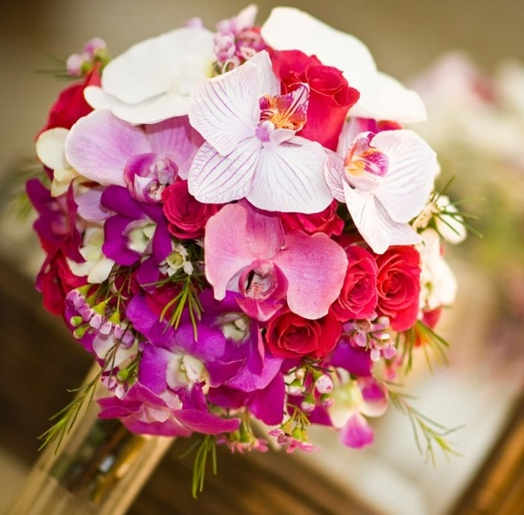 Bridal Bouquet Styles: Tropical Flowers