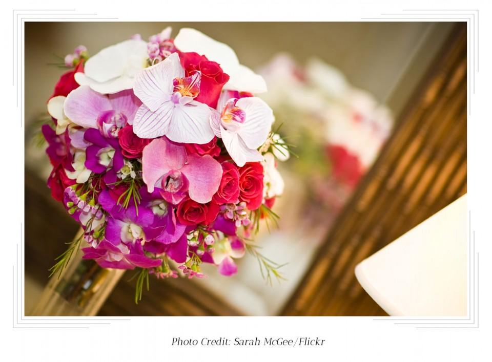 Bridal Bouquet Styles Tropical Flowers