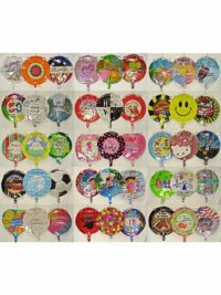This is an assortment of mylar balloons for any occassion.